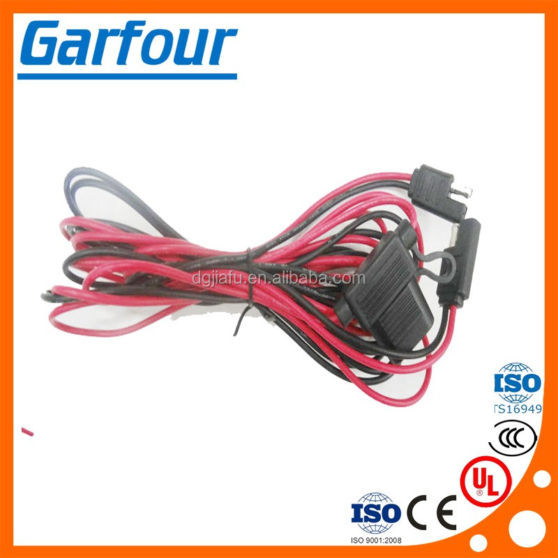 Wholesale 12v ATV UTV Wiring harness Accessory Plug - Universal ...: 2 Prong Wiring Harness at e-platina.org
