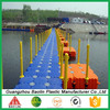 easy installed floating plastic jetty devices
