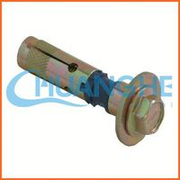china supplier zinc alloy single expansion anchors/expansion bolt