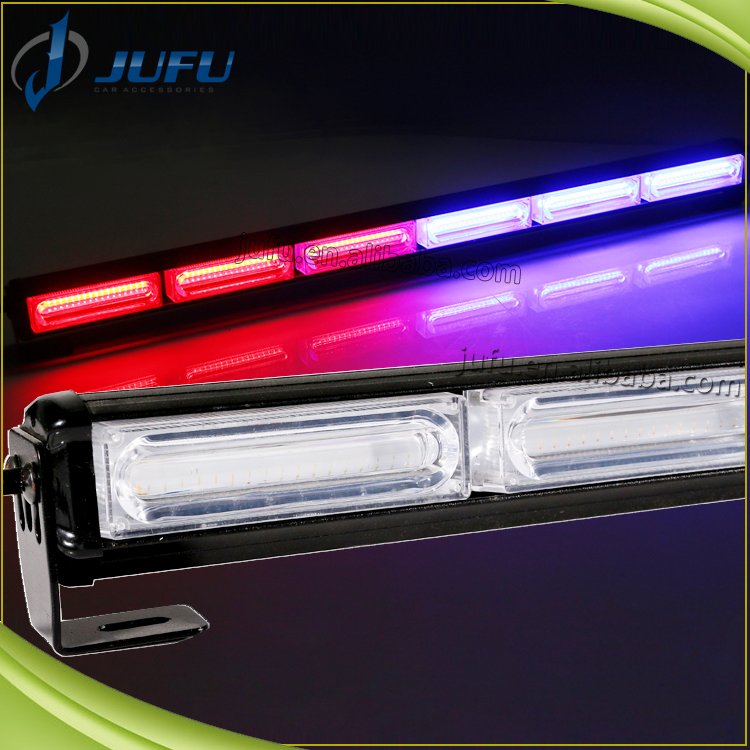 12V Auto Car Strobe Flashlight Super Bright Emergency Warning LED Mini Bar Strobe Flash Red Blue White Amber Green Strobe Light