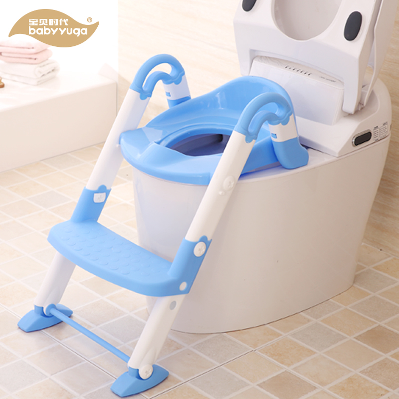Wholesale kids potty with ladder child potty chair cheap safety baby bidet toilet