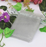 Multiple Color Rectangle Bottom Travel Promotional Use Fast Delivery Hot Sale Durable Microfiber Organza Bag