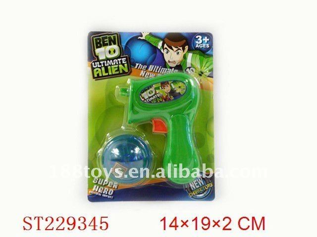 2011 NEW BEN 10 bouncing top gun with light