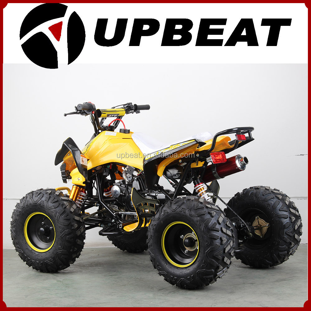 Gas powered 110cc cool sport ATV manual/raptor quad ATV with Chain drive  8inch wheel