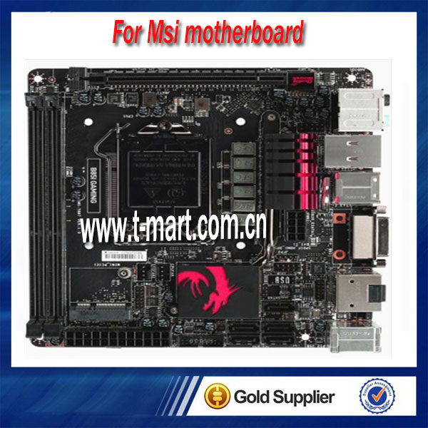 100% Working Desktop Motherboard For MSI B85I GAMING fully test