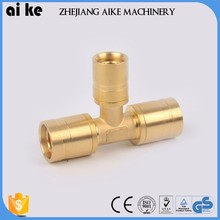 New slide tight fitting pipe fitting tee