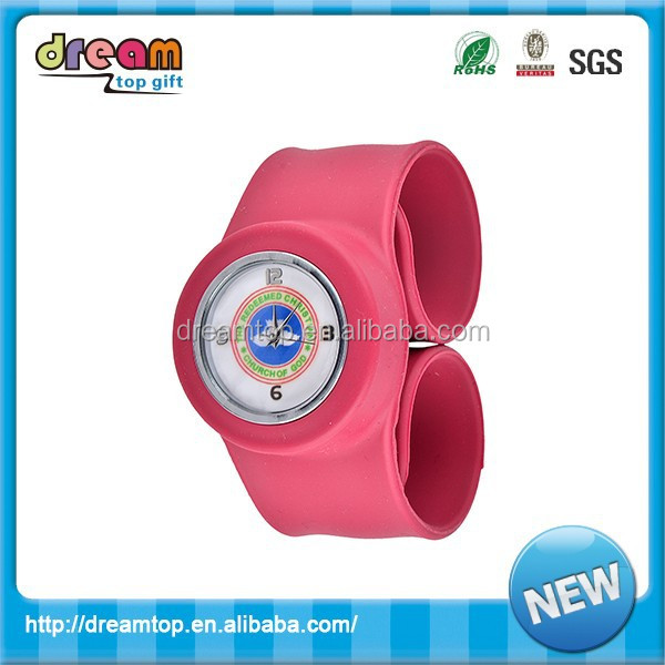 Popular jelly 2015 Silicone oem watch