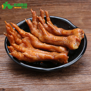 China Manufacturer Wholesale Top Popular Spicy Chicken Claw for Afternoon Snacks