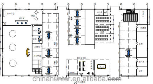 Auto Repair Shop Floor Plans