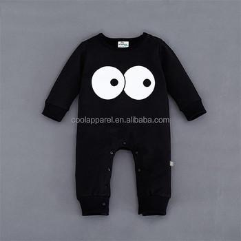 390e0728721e baby clothes romper bulk wholesale kids clothing baby plain black romper