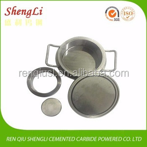 Tungsten Melting Pot Tungsten Carbide Grinding Jar for Planetary Ball Mill