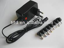 input 100-240v output 5-12v 12w wall-mounted ac adapter 12v1000ma