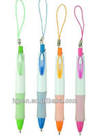 4 Color Fantastic Logo Pen, Plastic Hunging Ballpoint Pen