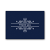 100 Navy Gold Foil Thank You Greeting Cards and Envelopes Box Sets