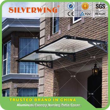 Tende Per Esterni Resistenti Al Vento.Resistente Al Vento In Alluminio Polycarboante Porta Tettoia Portico