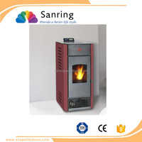 optimum efficiency 13 KW European style wood burning pellet stove