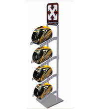 Metalen motorhelm display vloer rack crash <span class=keywords><strong>helm</strong></span> display <span class=keywords><strong>stand</strong></span>