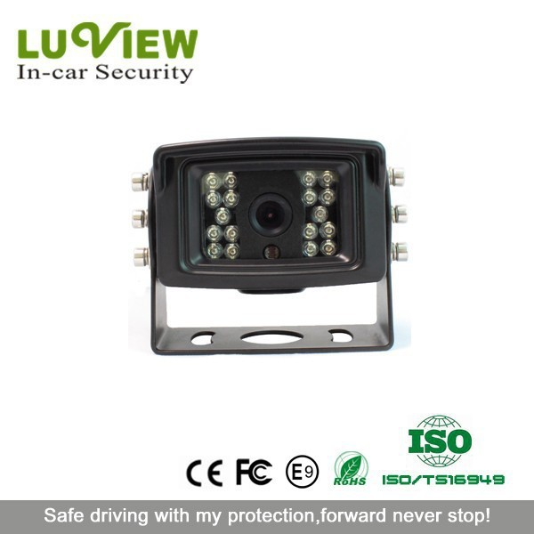 IR Night Vision IP69K Waterproof Heavy Duty Backup Camera for Excavator, Crane, Truck, Bus, Lorry, Farm vehicle, Fire truck