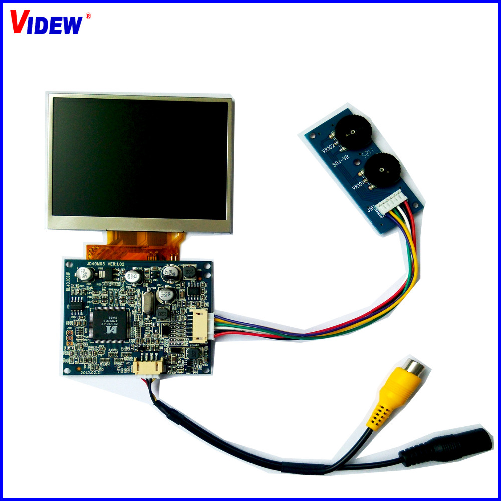 3.5 TFT LCD Touch Screen Module 320x240 with VGA/CVBS input