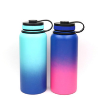 32OZ Wide Mouth 600/750ml double wall 18/8 stainless steel insulated/vacuum/thermal sports water bottle 18oz 16oz 12oz 14oz
