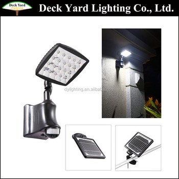 Outdoor Motion Sensor Led Wall Security Lights Solar Led Flood Light With Pir Motion Sensor Solar Wall Lights Buy Motion Sensor Solar Wall