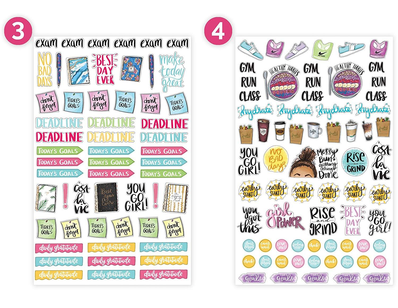 Myway Groothandel Kleurrijke Custom Vinyl Kus Cut Sticker Blad Voor Kinderen
