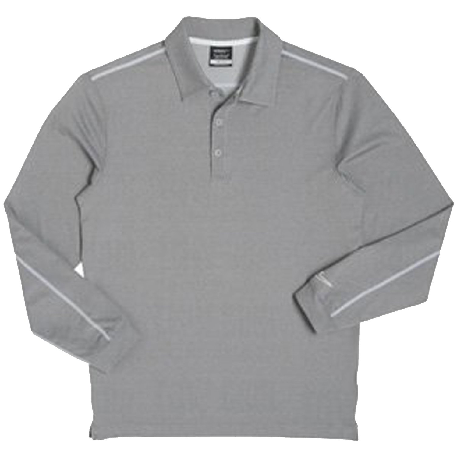 34cb25cbd Get Quotations · Nike Men's Dri-Fit Long Sleeve Heathered Bleached Golf Polo  Shirt - Small