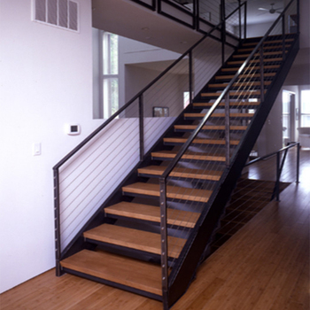 Types Of Newly Design Industry Steel Staircase Steps For House