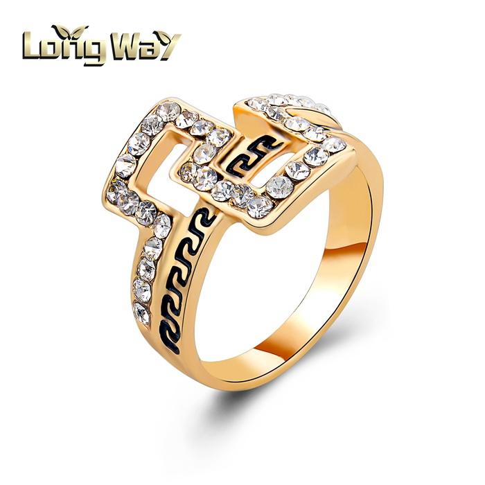 2015 Latest Fashion Belt Shape Ring With English Letter Design ...
