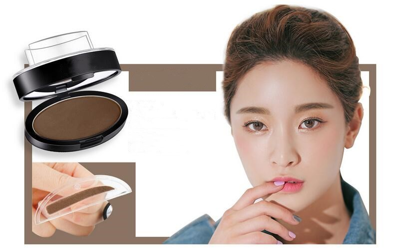 Best Selling Brow Stamp Powder Eyebrow Natural Perfect Enhance 3Colors