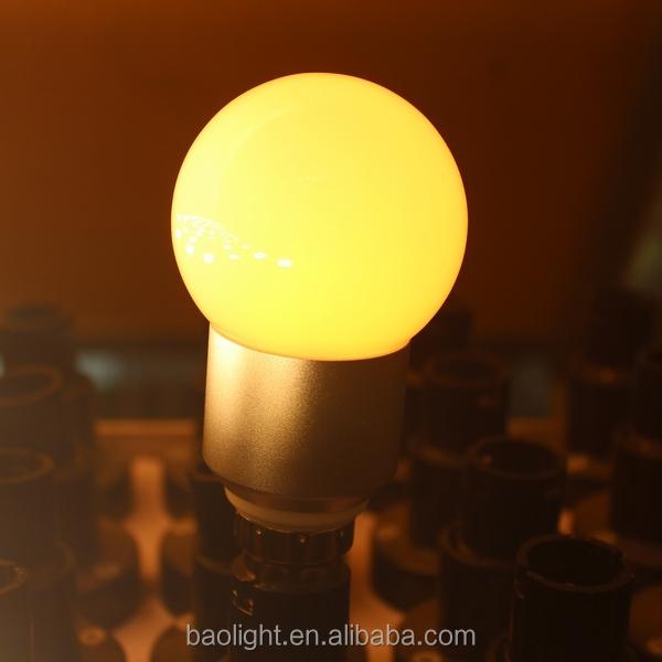 Wholesale Holiday lighting color bulbs g40 g45 1W led lights b22 ...