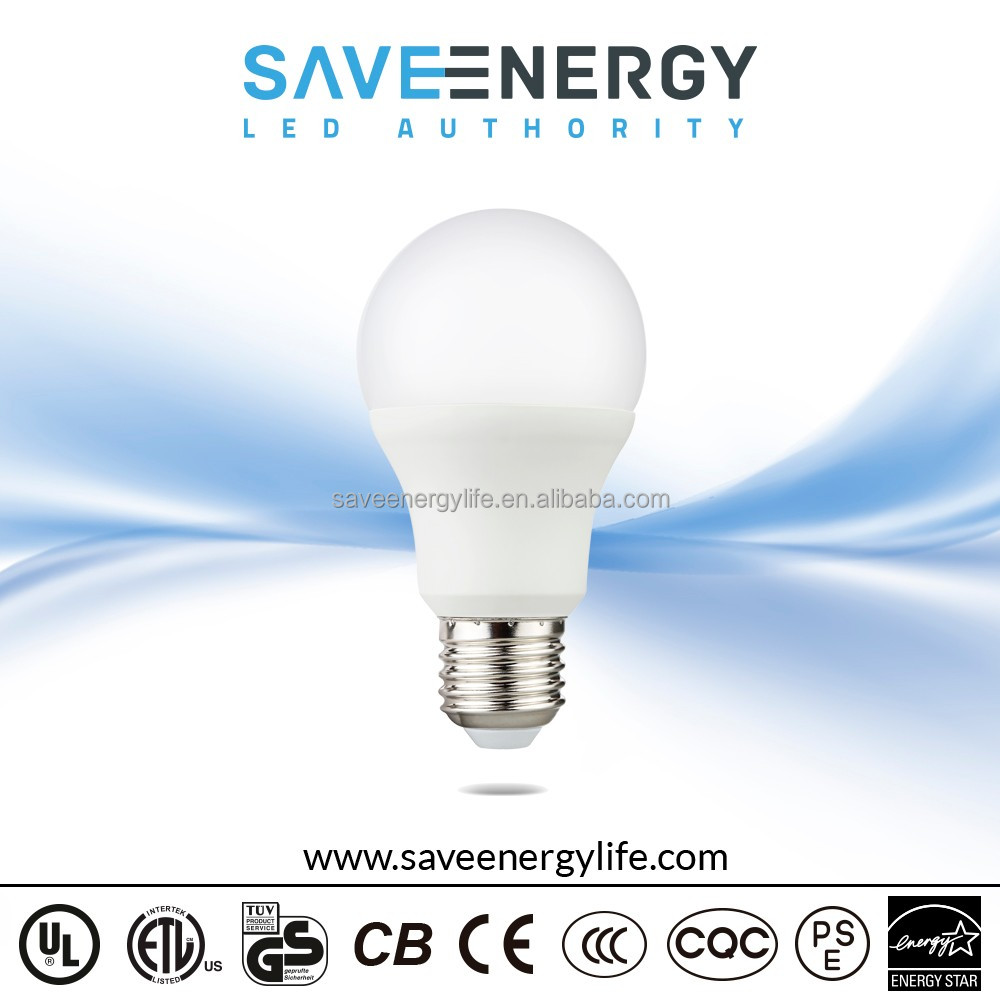 Ul Listed Bulb A19 A60 6w 9w Ecosmart Led Light Bulb 6w E26 Enregy ...