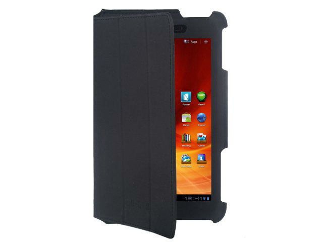 "Ultra-Slim with Stand Sikai Black Microfiber Leather cover for Acer 7""inch Iconia Tab A100 Android 3.2 tablet"