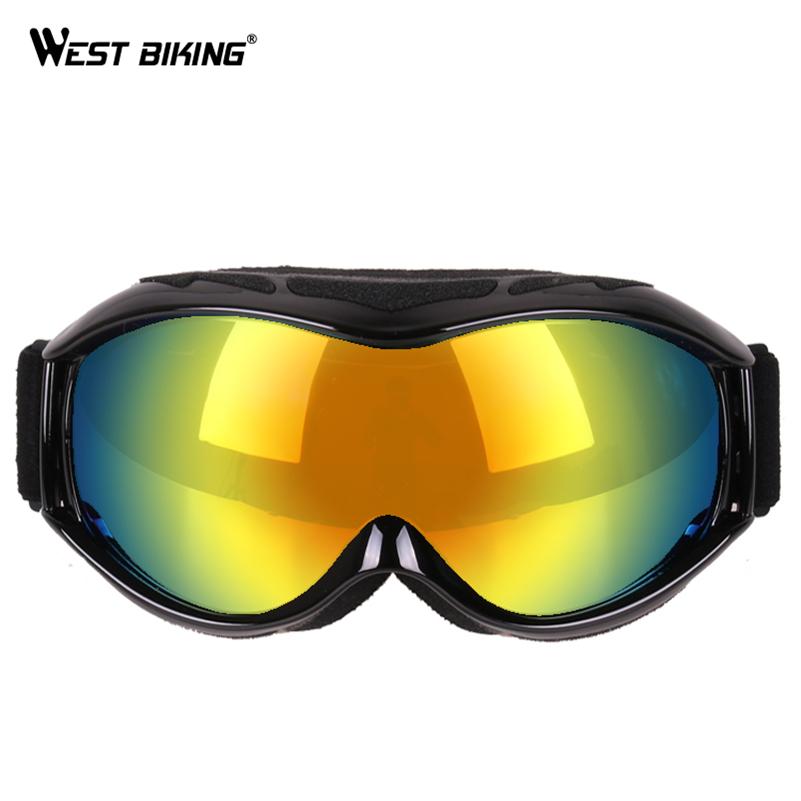 f2f5b63ff07 WEST BIKING Skiing Eyewear Bike Windproof  strong Goggles  strong  Outdoor