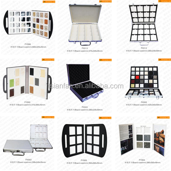 Ceramic Tile Stone Merchandising Display Box