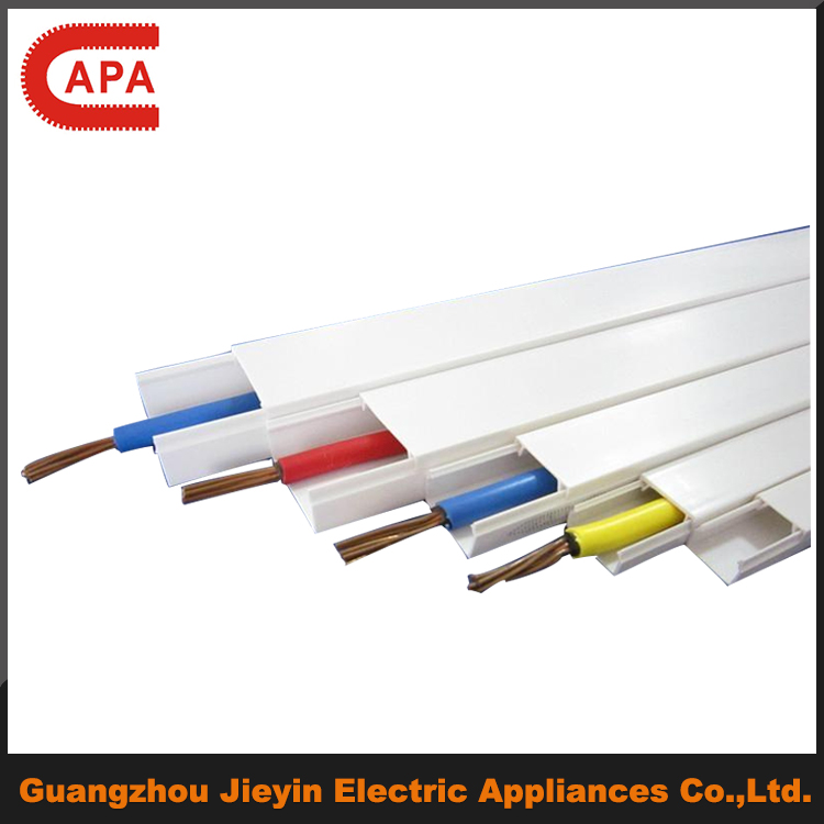 plastic Trunking Cable Electrical Wire Casing/plastic Wiring Ducts