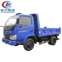 4x2 Foton mini hydraulic system dump truck for sale