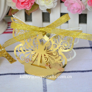 Wedding Favors And Gifts Party Supplies Indian Wedding Favors Wholesale butterfly Laser Cut Wedding Favor Boxes