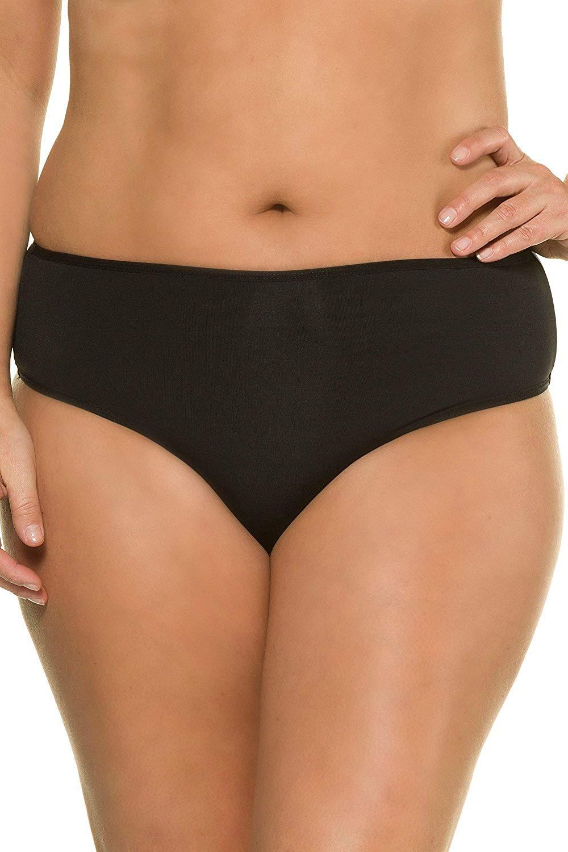 Ulla Popken Women's Plus Size   2-Pack Thong Slips   693934