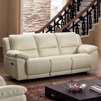 Yr5168 Comfortable White Leather Cheers Furniture Home Theater