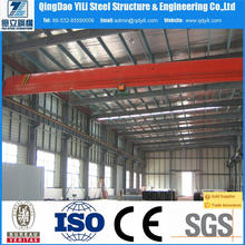 easy hall sandwich type steel structure factory workshop for industrial