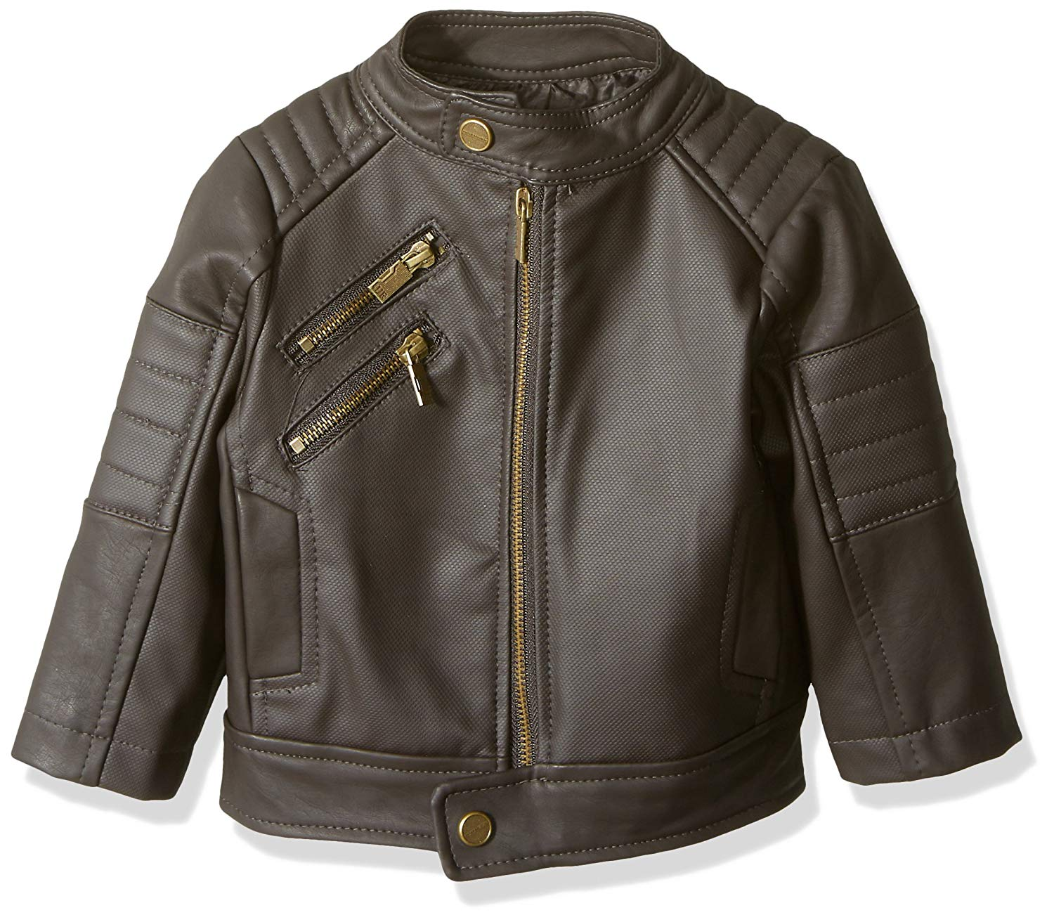 ebae0950 Get Quotations · Urban Republic Baby Boys Texture Faux Leather Jacket