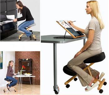 Muebles para el hogar silla ergon mica rodilla silla for Silla ergonomica rodillas