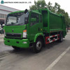 China Sino truck HOWO garbage truck china hydraulic lifter garbage truck
