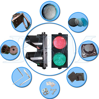 High brightness road led traffic signal system