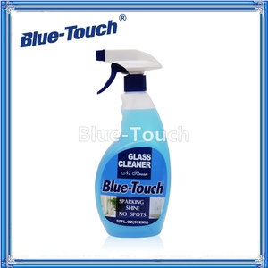 cleaning chemicals blue color cars glass cleaner wholesale liquid glass car cleaner with spray