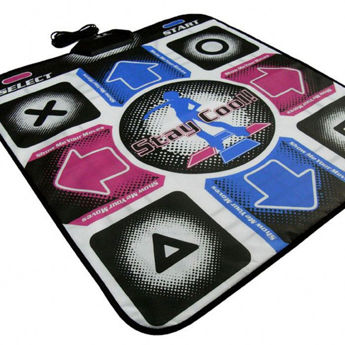 32 16 8 บิต Dance Revolution DDR Pad Mat