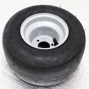 10X4.50-5 Go Kart Wheel With Steel Rim Grey Color