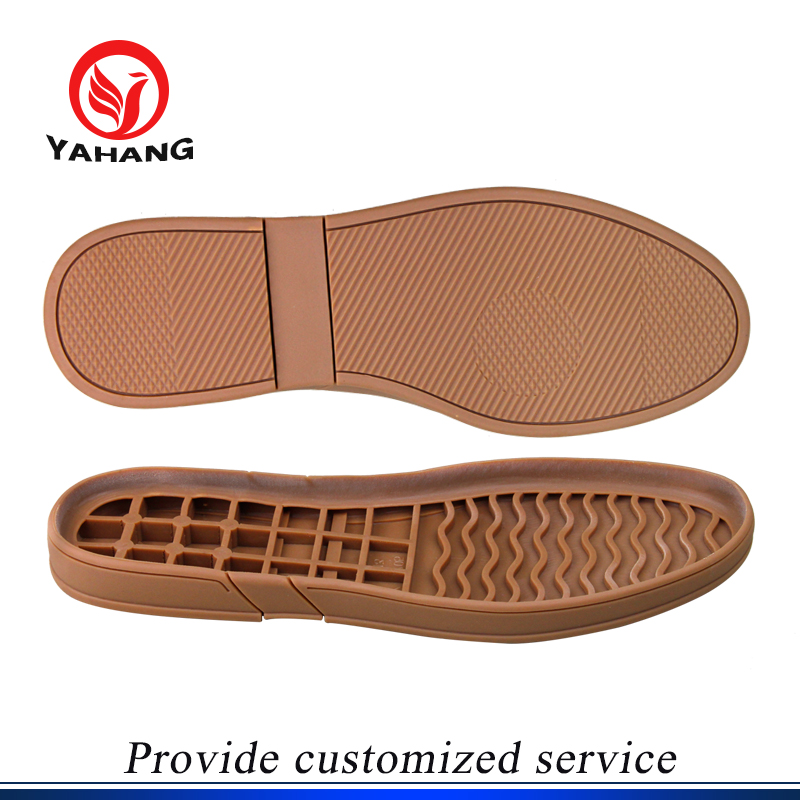 Natural rubber gum color sneaker soles