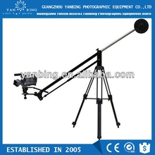 Professional portable 3m hand-operated jib crane for dslr canon 5D Mark III
